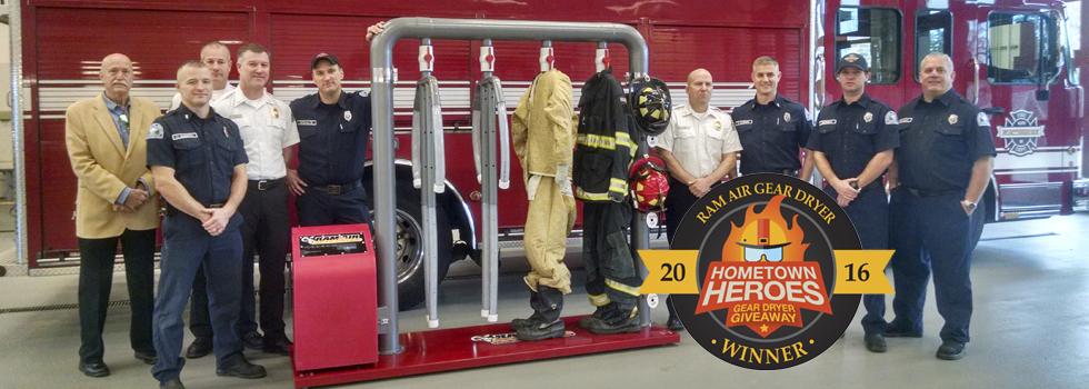 Ram Air announces the winner of Hometown Heroes Gear Dryer Giveaway