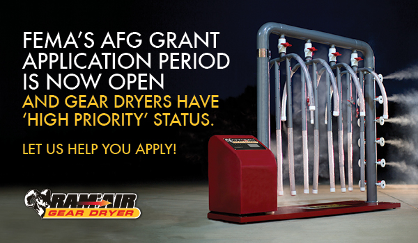 FEMA's AFG Grant Application Period Now Open