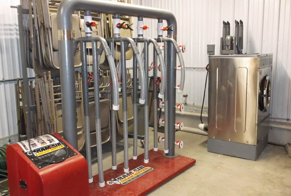 "Ram Air Gear Dryer part of ""first line of protection"" against cancer in Denmark, IA fire department."